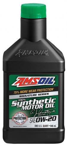 AMSOIL 0W20 Signature Series 0.946 ml.