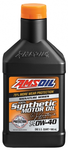 AMSOIL 0W40 Signature Series 0.946 ml.