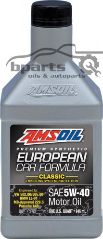 AMSOIL 5W40 European Car classic ESP 0.946 ml.