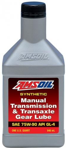 AMSOIL  75W90 Manual Transmission & Transaxle Gear Lube 0.946 ml.