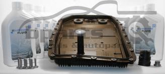 BMW 8HP - комплект 7л  масло ZF Lifeguard 8 + ZF филтър
