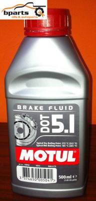 DOT 5.1 Brake Fluid 0.5l.