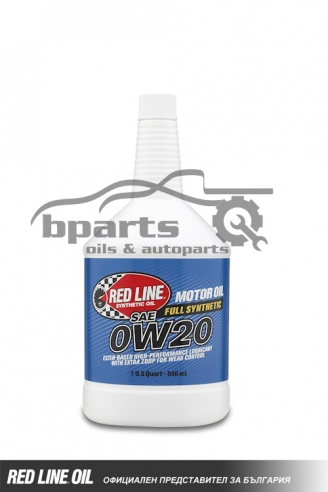 RED LINE 0W20 HIGH-PERFORMANCE MOTOR OIL 0.946L