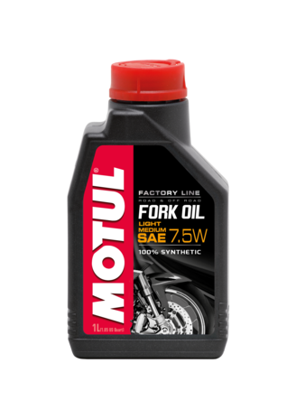 7.5W FORK OIL Factory Line - 1L