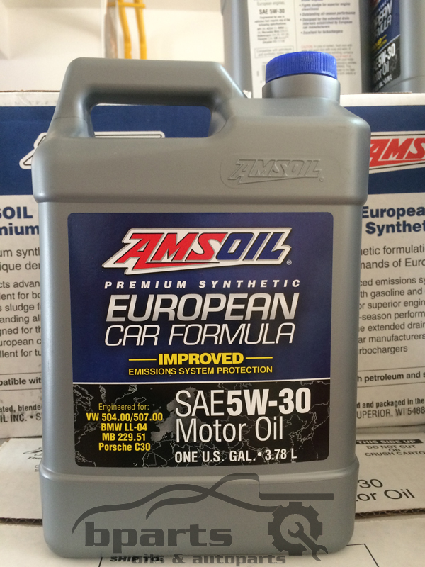 AMSOIL 5W30 European Car Formula Improved 3.78 L