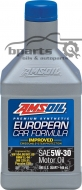 AMSOIL 5W30 European Car Formula Improved 0.946 ml.
