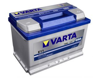 VARTA BLUE Dynamic 74Ah / 12V/ 680A