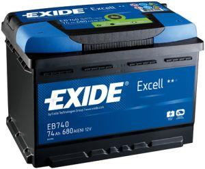 EXIDE Excell 50Ah / 12V/ 450A