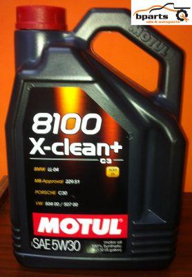 5W30 8100 X-Clean + - 5 литра