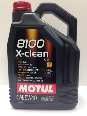 5W40 X-clean C3 8100 - 5 литра