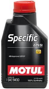 5W30 SPECIFIC 229.51 - 1L