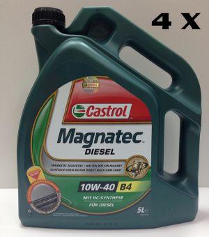 КАШОН 10W-40 Magnatec Diesel- 4бр Х 5 литра