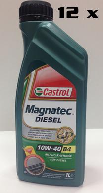 КАШОН 10W-40 Magnatec Diesel - 12бр Х 1 литра