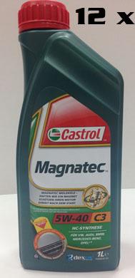 КАШОН 5W-40 Magnatec C3 - 12бр Х 1 литра