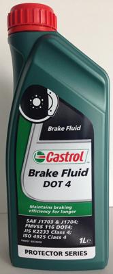 Castrol Brake Fluid Dot 4 - 1 литър