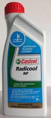 Castrol Radicool NF антифриз /син/ G11 - 1литър