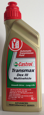 Castrol Transmax Dex III Multivehicle ATF - 1 литър