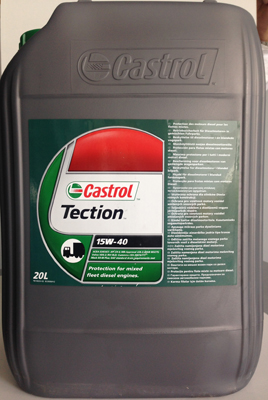 15W40 Castrol Tection - 20 литра