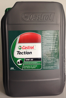 10W40 Castrol Tection  - 20 литра