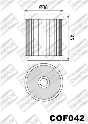COF042 - Champion - маслен филтър