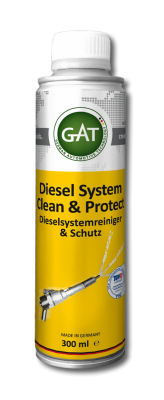 DIESEL SYSTEM CLEAN AND PROTECT 300ml