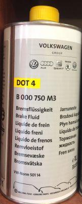 B 000 750 M3 - VAG - 1L - спирачна течност