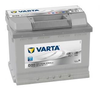 VARTA Silver Dynamic 63Ah / 12V/ 610A - ляв +